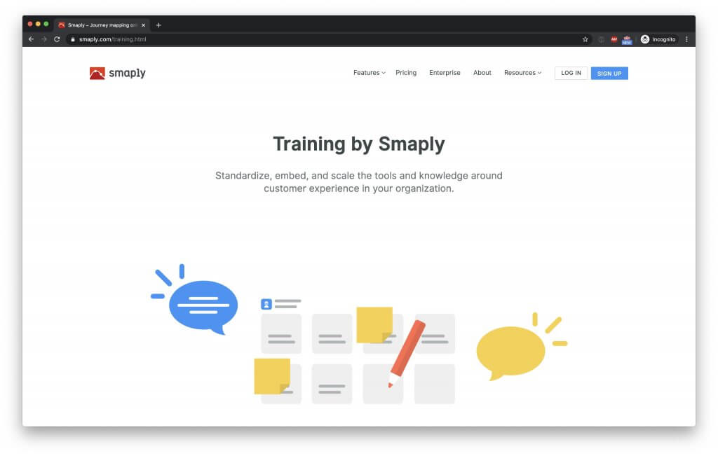 Journey Mapping training by Smaply