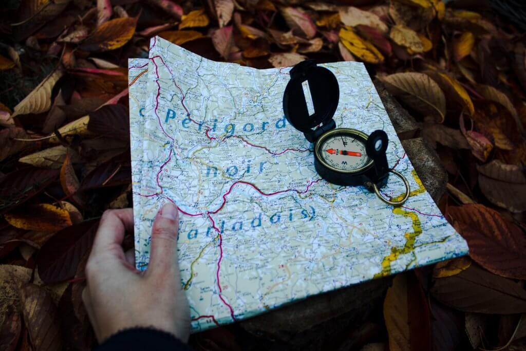 Maps help you to navigate
